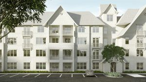 Luxury 1 bedroom apartments with garage in Mobile